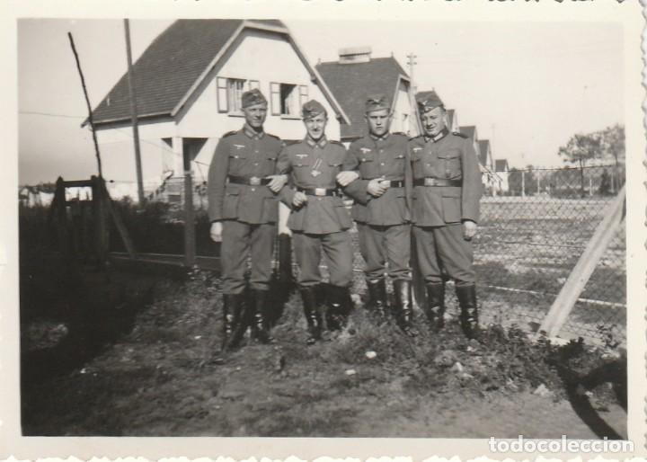 Militaria: LOTE DE 6 FOTOS DE SOLDADOS DE LA WEHRMACHT Y ESCENARIOS BÉLICOS - (NAZISMO, SEGUNDA GUERRA MUNDIAL) - Foto 3 - 183674393