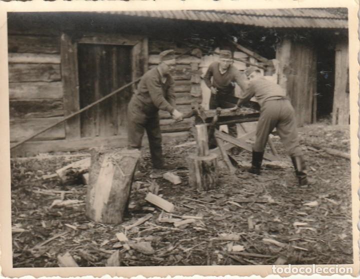 Militaria: LOTE DE 6 FOTOS DE SOLDADOS DE LA WEHRMACHT Y ESCENARIOS BÉLICOS - (NAZISMO, SEGUNDA GUERRA MUNDIAL) - Foto 7 - 183674393