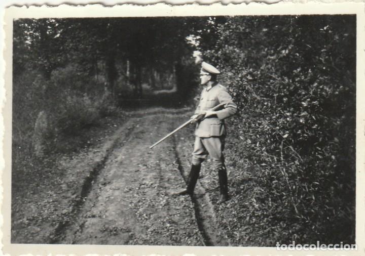 Militaria: LOTE DE 5 FOTOS DE SOLDADOS DE LA WEHRMACHT Y ESCENARIOS BÉLICOS - (NAZISMO, SEGUNDA GUERRA MUNDIAL) - Foto 2 - 183674452