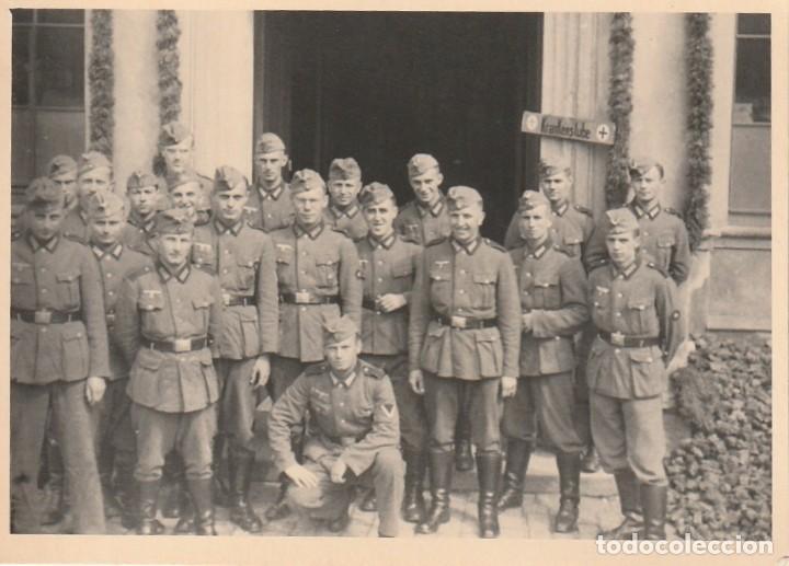 Militaria: LOTE DE 5 FOTOS DE SOLDADOS DE LA WEHRMACHT Y ESCENARIOS BÉLICOS - (NAZISMO, SEGUNDA GUERRA MUNDIAL) - Foto 4 - 183683946