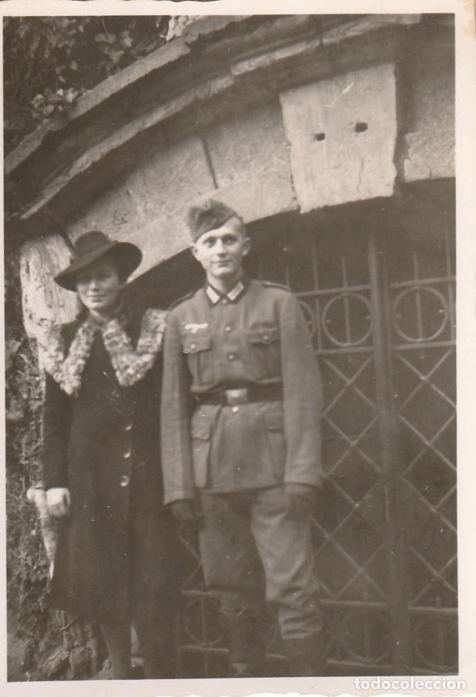 Militaria: LOTE DE 5 FOTOS DE SOLDADOS DE LA WEHRMACHT Y ESCENARIOS BÉLICOS - (NAZISMO, SEGUNDA GUERRA MUNDIAL) - Foto 6 - 183683946