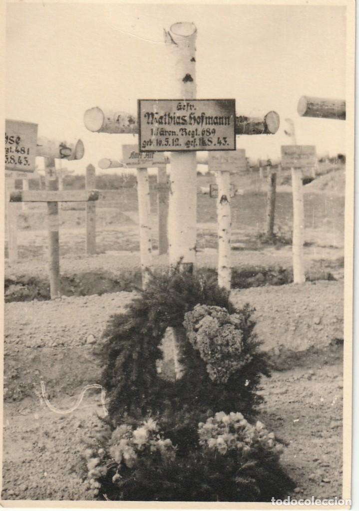 Militaria: LOTE DE 2 FOTOS DE SOLDADOS DE LA WEHRMACHT Y ESCENARIOS BÉLICOS - (NAZISMO, SEGUNDA GUERRA MUNDIAL) - Foto 3 - 183683983