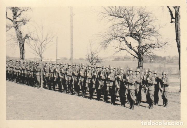 Militaria: LOTE DE 6 FOTOS DE SOLDADOS DE LA WEHRMACHT Y ESCENARIOS BÉLICOS - (NAZISMO, SEGUNDA GUERRA MUNDIAL) - Foto 2 - 183684018