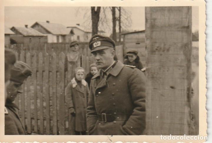 Militaria: LOTE DE 6 FOTOS DE SOLDADOS DE LA WEHRMACHT Y ESCENARIOS BÉLICOS - (NAZISMO, SEGUNDA GUERRA MUNDIAL) - Foto 4 - 183684018