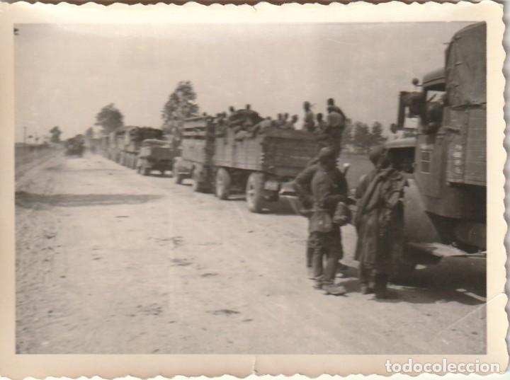 Militaria: LOTE DE 6 FOTOS DE SOLDADOS DE LA WEHRMACHT Y ESCENARIOS BÉLICOS - (NAZISMO, SEGUNDA GUERRA MUNDIAL) - Foto 7 - 183684018
