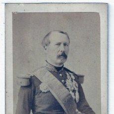 Militaria: FOTOGRAFIA TARJETA CARTA DE VISITA FOTO GENERAL MAC MAHON ,TV2665. Lote 183701716