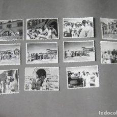 Militaria: LOTE DE 11 FOTOGRAFÍAS DEL EJERCITO DEL AIRE ESPAÑOL Y AMERICANO - PARADOR ARGUIS - HUESCA. Lote 183835408