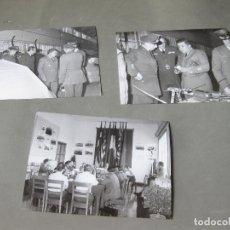 Militaria: 3 FOTOGRAFÍAS DEL EJERCITO DEL AIRE ESPAÑOL Y AMERICANO - AVIACIÓN 1966. Lote 183839007