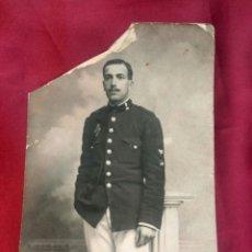 Militaria: FOTO SOLDADO SEÑALERO. Lote 184008256