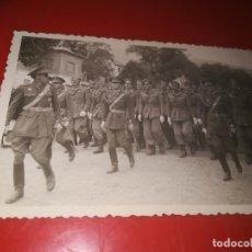 Militaria: FOTO POSGUERRA LA GRANJA SEGOVIA 1947 VERANO. Lote 184032245