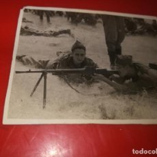 Militaria: FOTO POSGUERRA LA GRANJA SEGOVIA 1946 21/7/46. Lote 184032375
