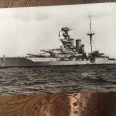 Militaria: POSTAL BARCO HMS BARHAM. Lote 184100783