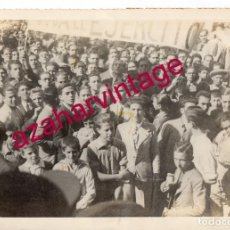 Militaria: SEVILLA, 1934, FALANGE, MANIFESTACION DE OCTUBRE, MAGNIFICA, 225X165MM. Lote 184177217