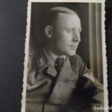 Militaria: SUBOFICIAL DE LA LUFTWAFFE DE PERFIL. III REICH. AÑOS 1939-45. Lote 184282460