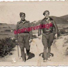 Militaria: GUERRA CIVIL, SOLDADOS EN EL FRENTE DE CORDOBA, 85X60MM. Lote 184389865