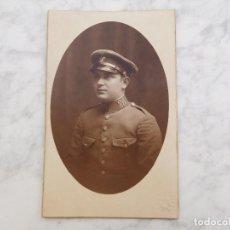 Militaria: FOTOGRAFÍA DE SOLDADO DE CABALLERÍA ÉPOCA ALFONSO XIII REG. 26 FOTÓGRAFO TORRES REUS. Lote 184645011