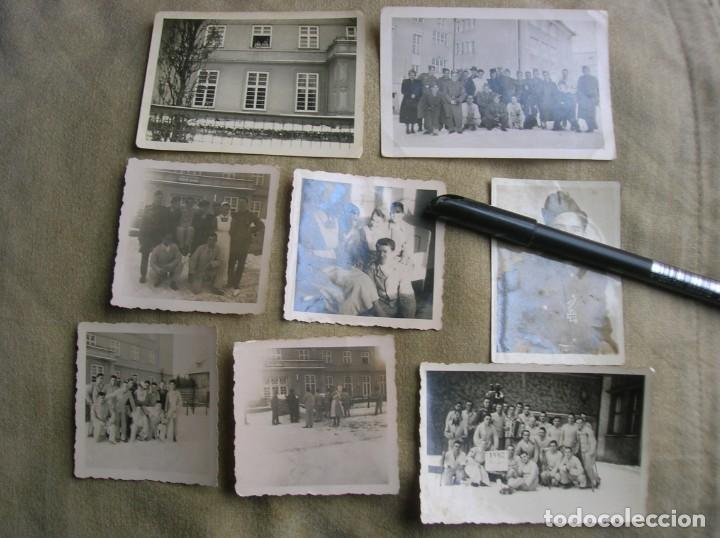 EXTRAORDINARIO LOTE DE FOTOGRAFIAS ORIGINALES DE UN DIVISIONARIO. DIVISIÓN AZUL. CRUZ DE HIERRO. (Militar - Fotografía Militar - II Guerra Mundial)