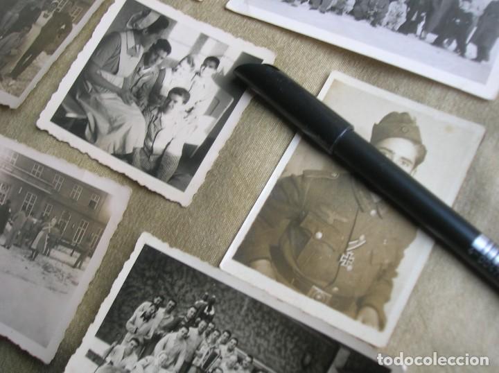 Militaria: EXTRAORDINARIO LOTE DE FOTOGRAFIAS ORIGINALES DE UN DIVISIONARIO. DIVISIÓN AZUL. CRUZ DE HIERRO. - Foto 2 - 184759565