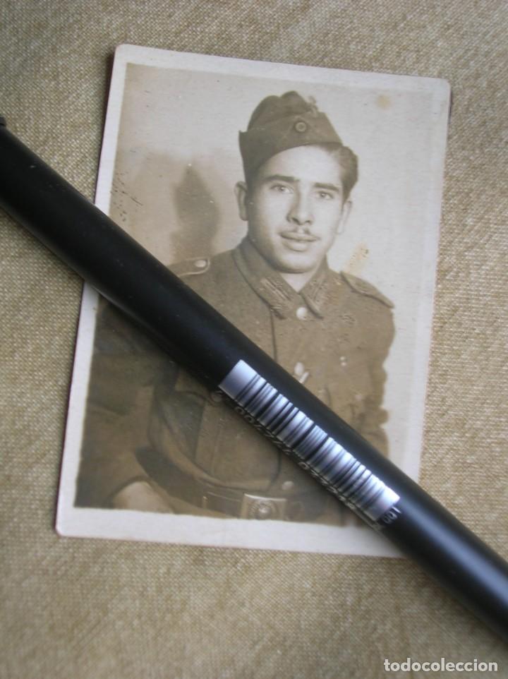 Militaria: EXTRAORDINARIO LOTE DE FOTOGRAFIAS ORIGINALES DE UN DIVISIONARIO. DIVISIÓN AZUL. CRUZ DE HIERRO. - Foto 5 - 184759565