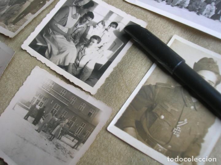 Militaria: EXTRAORDINARIO LOTE DE FOTOGRAFIAS ORIGINALES DE UN DIVISIONARIO. DIVISIÓN AZUL. CRUZ DE HIERRO. - Foto 8 - 184759565