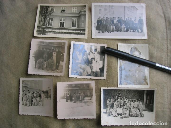 Militaria: EXTRAORDINARIO LOTE DE FOTOGRAFIAS ORIGINALES DE UN DIVISIONARIO. DIVISIÓN AZUL. CRUZ DE HIERRO. - Foto 9 - 184759565