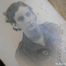 Militaria: MUY BELLA FOTO DEDICADA Y FECHADA DE MILITATNTE FALANGISTA. GUERRA CIVIL. AÑO 1936. FALANGE.. Lote 184760342
