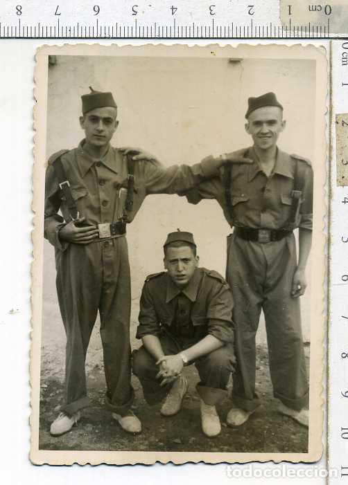 FOTOGRAFIA MILITAR SOLDADOS DE REGULARES SIDI -IFNI (Militar - Fotografía Militar - Otros)