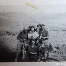 Militaria: FOTOGRAFÍA SOLDADOS DEL EJÉRCITO NACIONAL. GUERRA CIVIL. Lote 184883917