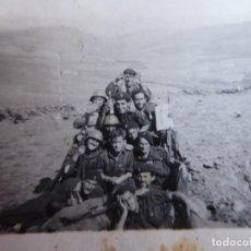 Militaria: FOTOGRAFÍA SOLDADOS DEL EJÉRCITO NACIONAL. GUERRA CIVIL. Lote 184884230