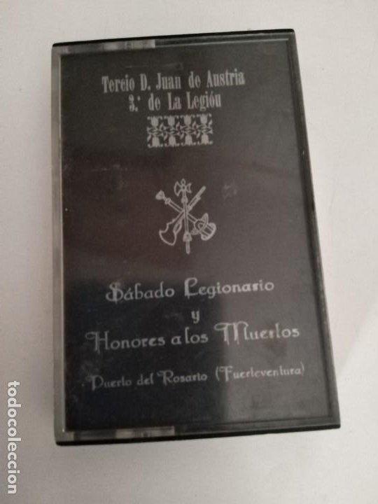 CASSETE TERCIO JUAN DE AUSTRIA LA LEGION SÁBADO LEGIONARIO Y HONORES A LOS MUERTOS. (Militar - Fotografía Militar - Guerra Civil Española)