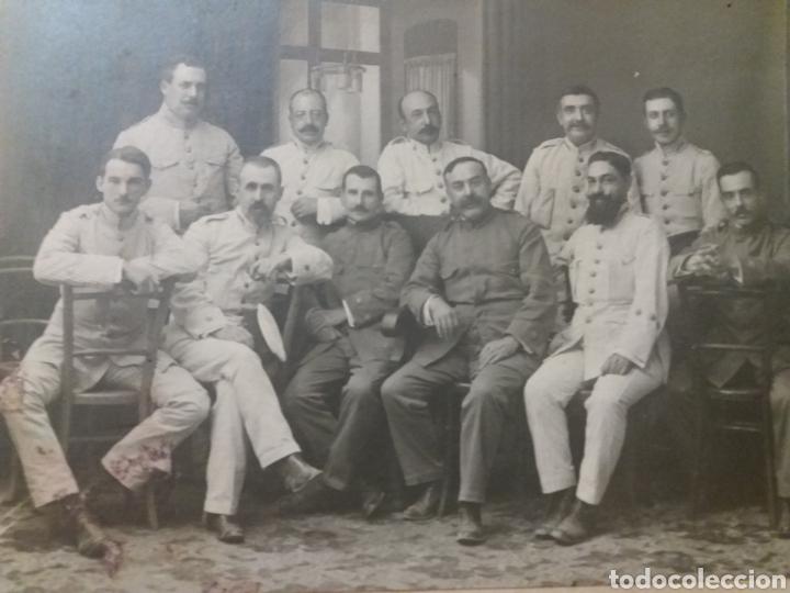 Militaria: foto antigua , Jefes y oficiales militares. - Foto 2 - 185933562