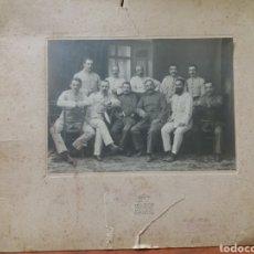 Militaria: FOTO ANTIGUA , JEFES Y OFICIALES MILITARES.. Lote 185933562