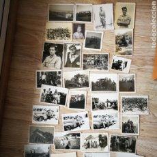 Militaria: LOTE DE 40 FOTOGRAFÍAS AÑOS 40 SOLDADOS ESPAÑOLES EN SIDI IFNI.. Lote 185984625