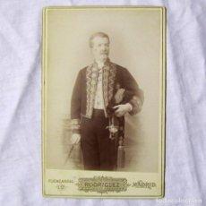 Militaria: FOTOGRAFÍA MILITAR ÉPOCA ALFONSO XIII, RODRIGUEZ FUENCARRAL MADRID. Lote 185991046