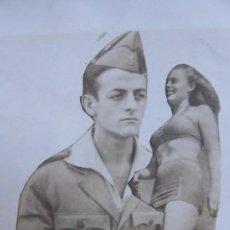 Militaria: FOTOGRAFÍA LEGIONARIO. BAKALI PARCHE CONTRACARROS LEGIÓN. Lote 186099741