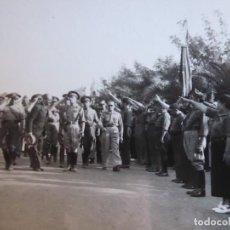 Militaria: FOTOGRAFÍA OFICIALES DEL EJÉRCITO NACIONAL. LARACHE 1936. Lote 186169332