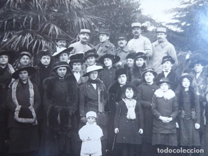 FOTOGRAFÍA SOLDADOS EJÉRCITO FRANCÉS. 1ºGM (Militar - Fotografía Militar - I Guerra Mundial)