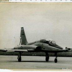 Militaria: FOTOGRAFIA AVION NORTHROP F-5A SELLADO POR DETRAS . Lote 186352865