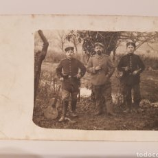 Militaria: CARTE POSTA , MILITARES I GUERRA MUNDIAL/ ORIGINAL DE ÉPOCA / 9× 14 CTM. Lote 186454582