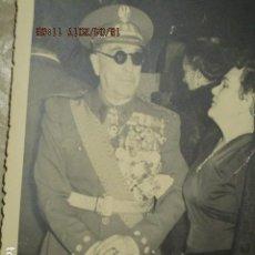 Militaria: ALTO MANDO CON UNAS 30 MEDALLAS EN EL UNIFORME MADRID 1956 EXCOMBATIENTE EN GUERRA CIVIL. Lote 186468416