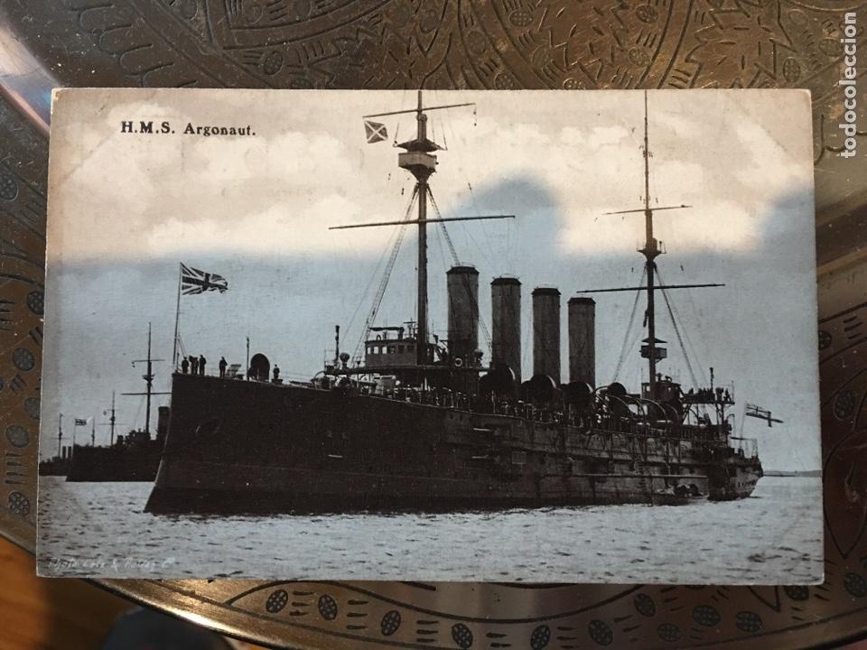 POSTAL BARCO GUERRA (Militar - Fotografía Militar - I Guerra Mundial)