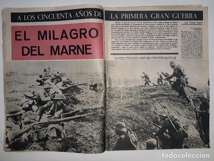 Militaria: REVISTA DESTINO Nº1414 AÑO 1964 NUMERO DEDICADO PRIMERA GUERRA MUNDIAL 1914 1918 PUBLICIDAD PEGASO - Foto 2 - 187108287