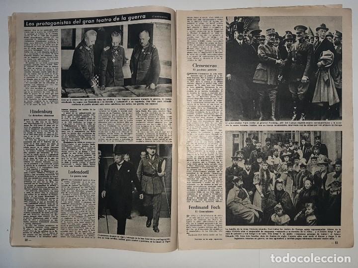 Militaria: REVISTA DESTINO Nº1414 AÑO 1964 NUMERO DEDICADO PRIMERA GUERRA MUNDIAL 1914 1918 PUBLICIDAD PEGASO - Foto 7 - 187108287
