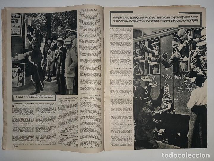 Militaria: REVISTA DESTINO Nº1414 AÑO 1964 NUMERO DEDICADO PRIMERA GUERRA MUNDIAL 1914 1918 PUBLICIDAD PEGASO - Foto 9 - 187108287
