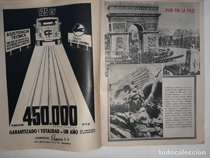 Militaria: REVISTA DESTINO Nº1414 AÑO 1964 NUMERO DEDICADO PRIMERA GUERRA MUNDIAL 1914 1918 PUBLICIDAD PEGASO - Foto 13 - 187108287