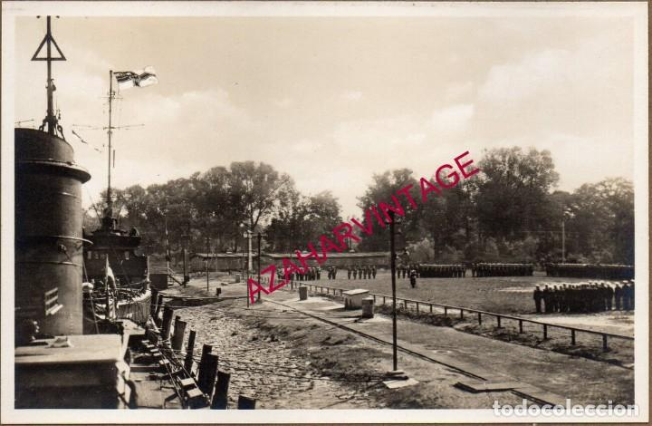 WWI,ANTIGUA FOTOGRAFIA CONMEMORACION TRIPULACION FLOTILLA DE TORPEDEROS,14X9 CMS (Militar - Fotografía Militar - I Guerra Mundial)