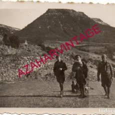 Militaria: GUERRA CIVIL, SOLDADOS EL FRENTE DE CASTELLON, 88X60 MM. Lote 187168085