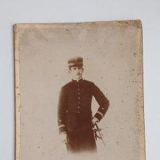 Militaria: ANTIGUA FOTOGRAFIA DE UN MILITAR. TRAJE DE GALA. BILBAO. W. Lote 187186447