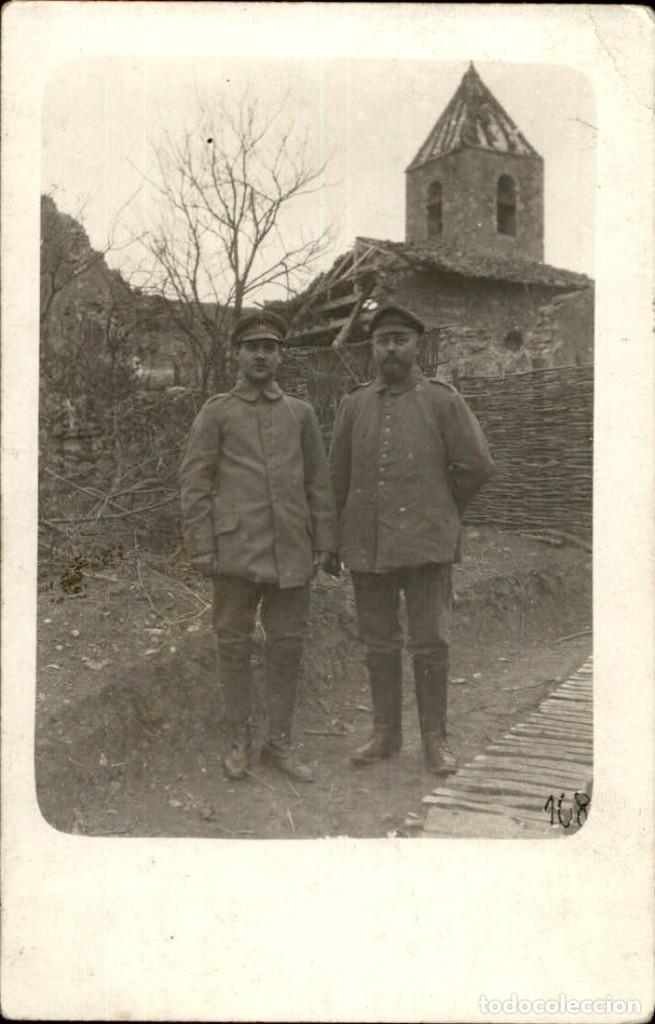 ORIGINAL - FOTOGRAFÍA POSTAL SOLDADOS ALEMANES. I GUERRA MUNDIAL. ALEMANIA (Militar - Fotografía Militar - I Guerra Mundial)