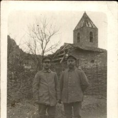 Militaria: ORIGINAL - FOTOGRAFÍA POSTAL SOLDADOS ALEMANES. I GUERRA MUNDIAL. ALEMANIA. Lote 187371891